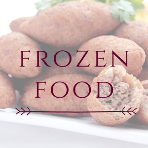 Our products: Frozen Food