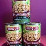 Cooked chickpeas Aoun