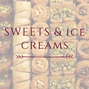 Lebanese sweets & ice creams